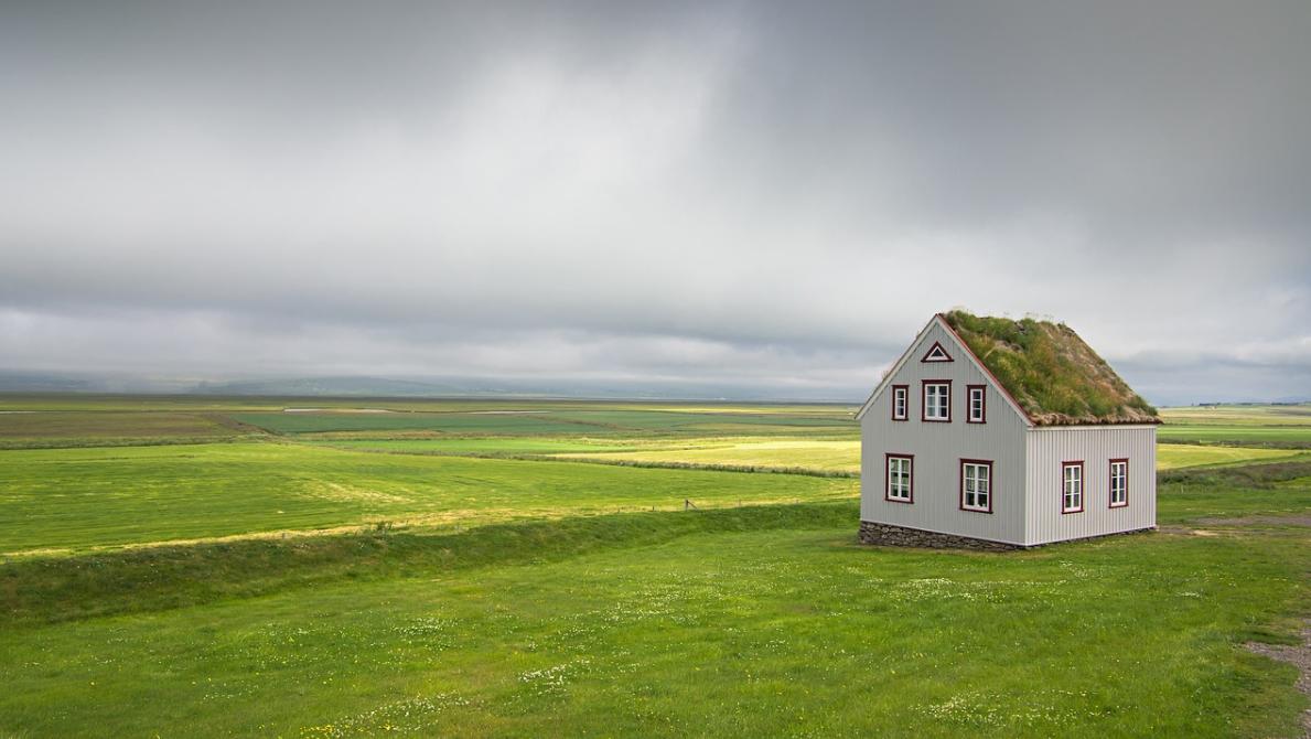 dům v krajině