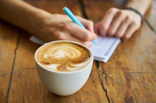 Káva k snídani