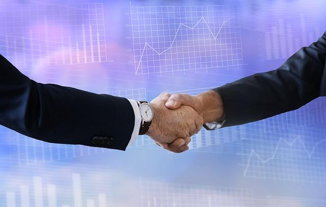 podané ruce, dohoda